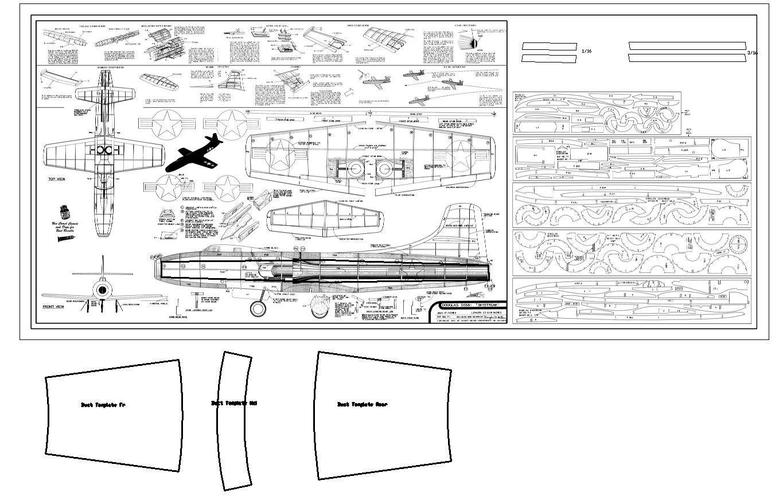 douglas skystreak-jetex  40mm fan conversion